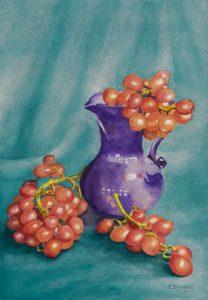 Grapes in a Jug